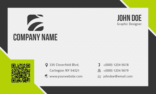 Presentation Cards Template Freebie Release 10 Business Card